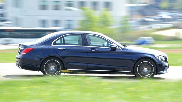 Mercedes C 220 d, Exterieur