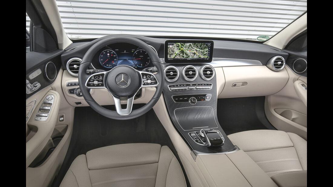 Mercedes C 220 d T, Interieur