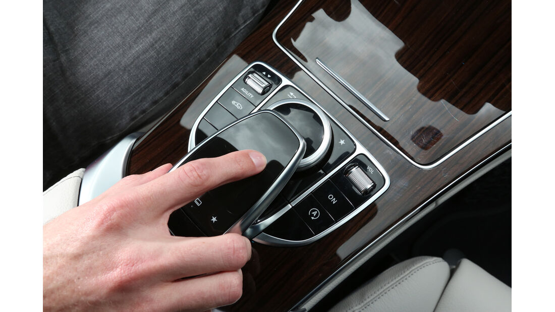 Mercedes C 250 Bluetec, Bedienelement