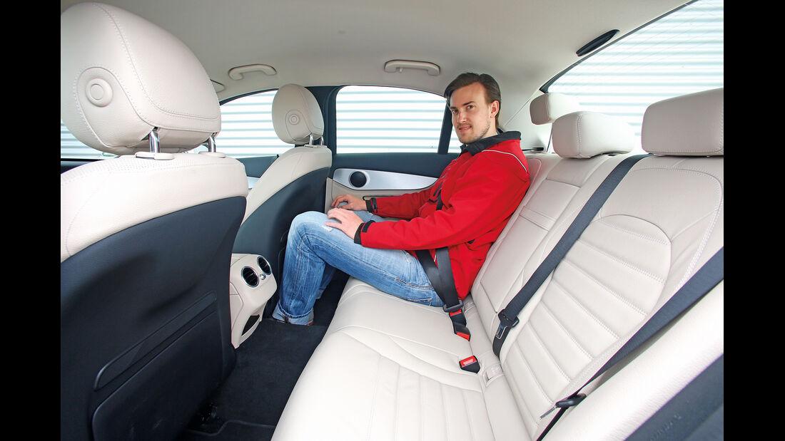 Mercedes C 250 Bluetec, Fondsitz