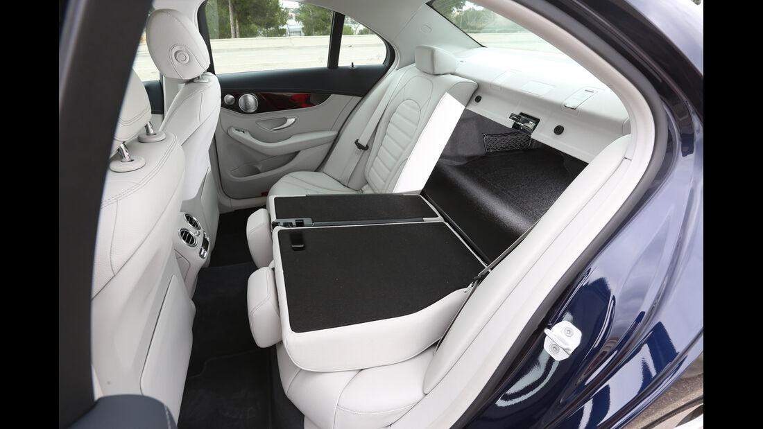 Mercedes C 250 Bluetec, Fondsitz, Umklappen, Durchreiche