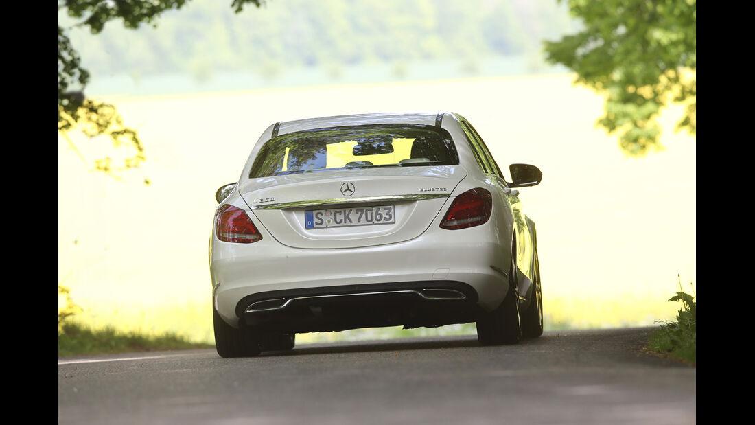 Mercedes C 250 Bluetec, Heckansicht