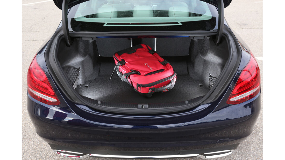 Mercedes C 250 Bluetec, Kofferraum