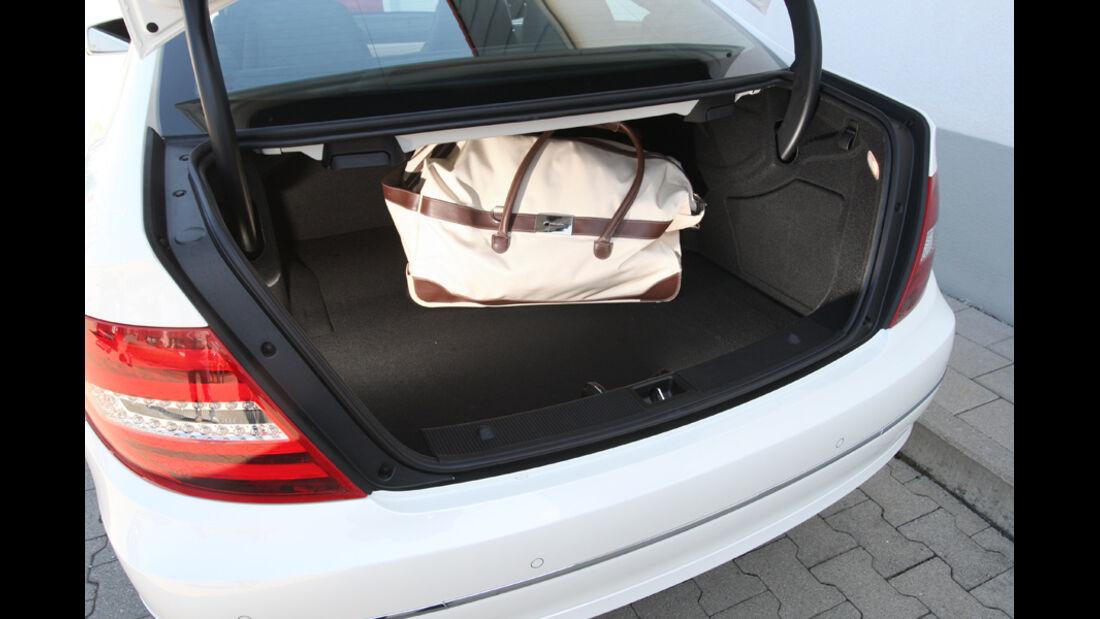 Mercedes C 250 Coupe, Kofferraum
