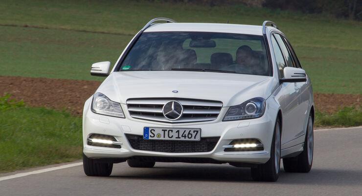 Mercedes C 250 T Avantgarde, Frontansicht