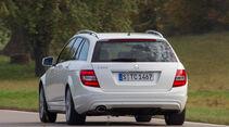 Mercedes C 250 T Avantgarde, Heckansicht