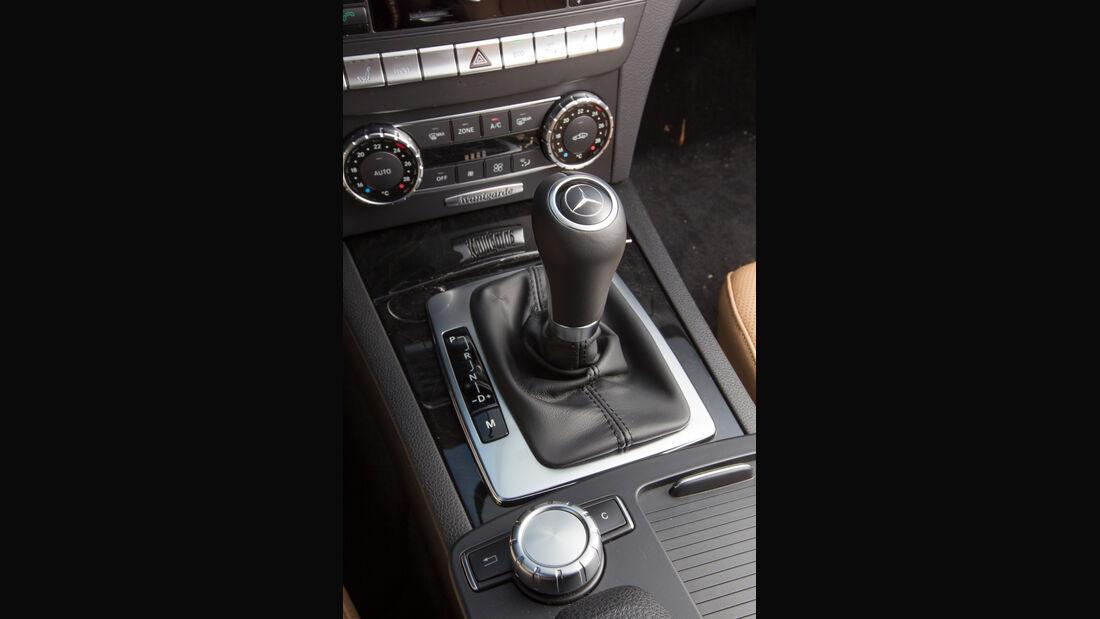 Mercedes C 250 T Avantgarde, Schalthebel, Schalknauf