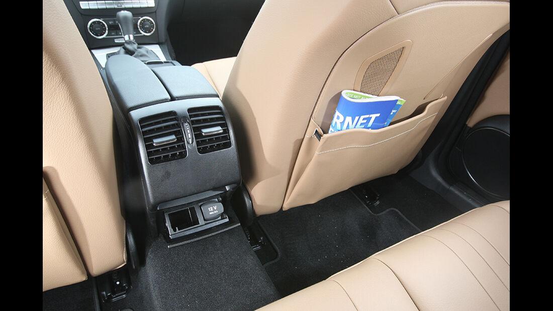 Mercedes C 250 T-Modell, Detail, Innenraum