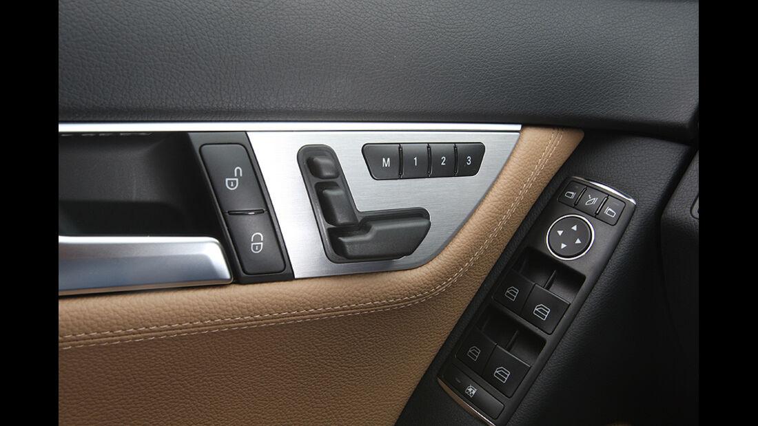 Mercedes C 250 T-Modell, Detail, Innenraum, Fahrertüre