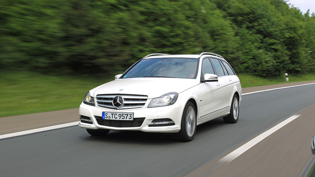 Mercedes C 250 T-Modell, Frontansicht