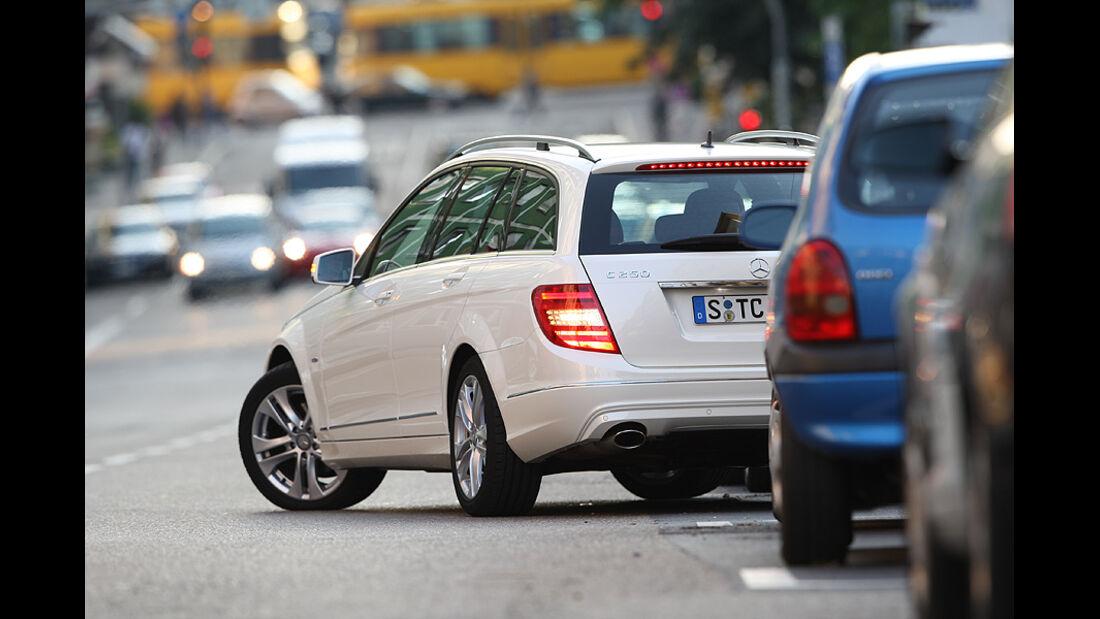 Mercedes C 250 T-Modell, Heckansicht