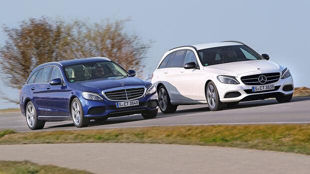Mercedes C 250 T gegen C 250 d T