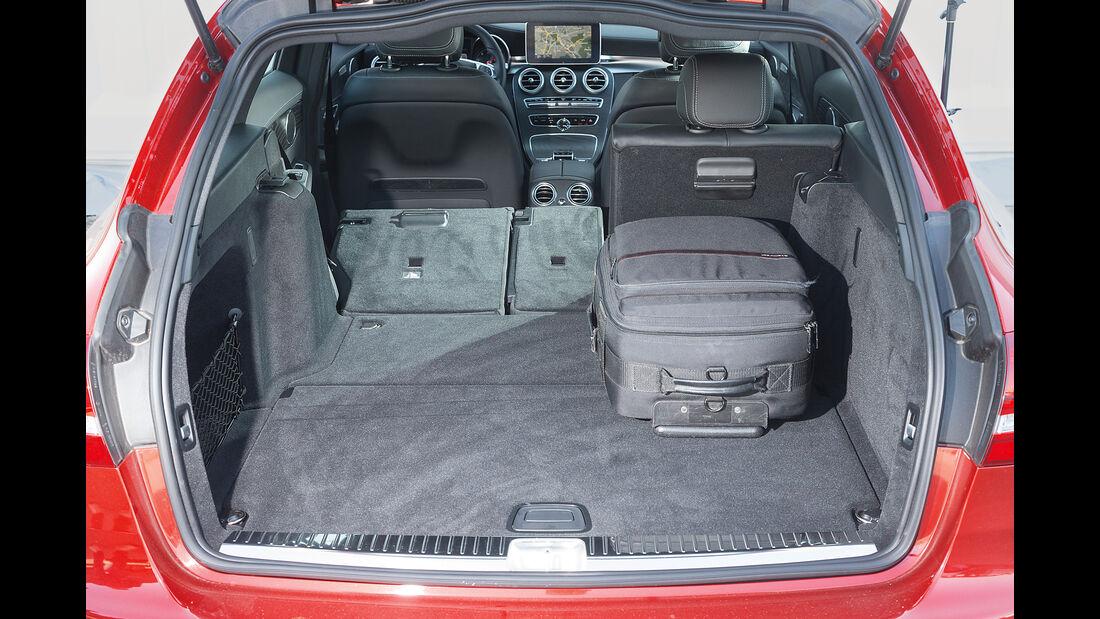 Mercedes C 250 d 4Matic T, Kofferraum