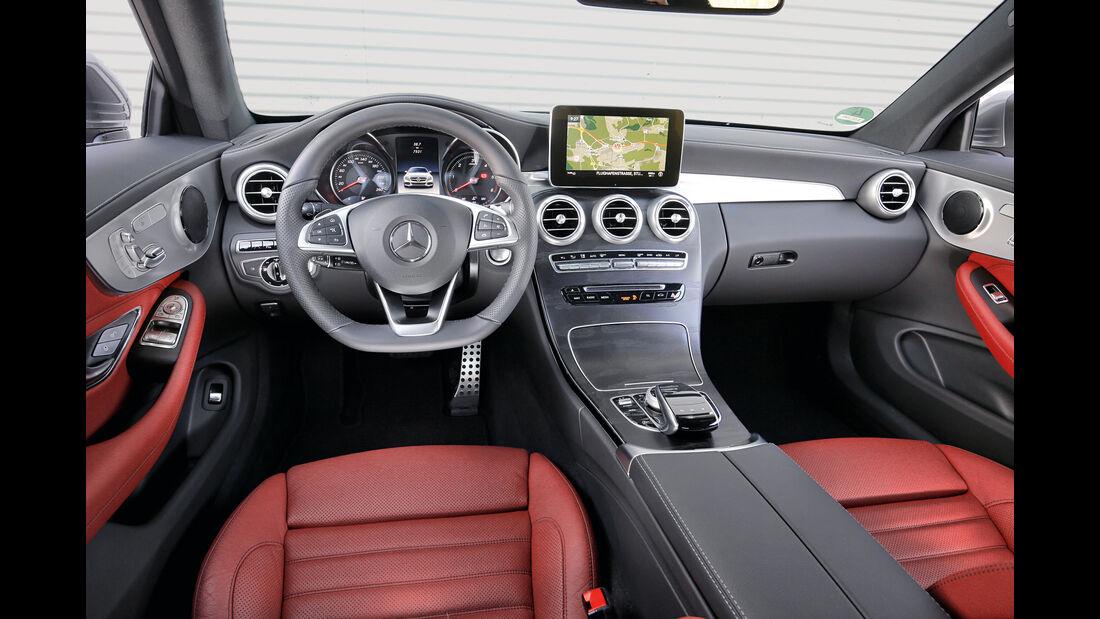 Mercedes C 250 d Coupé, Cockpit