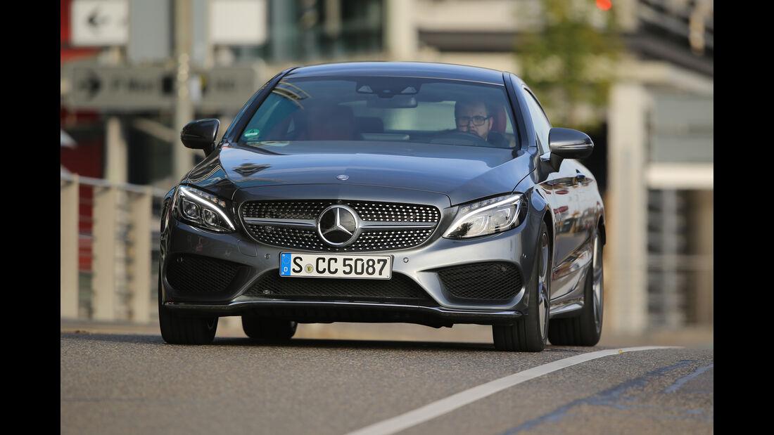 Mercedes C 250 d Coupé, Frontansicht