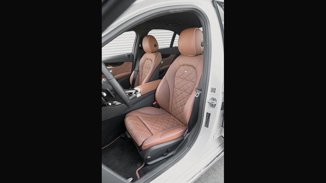 Mercedes C 250 d, Fahrersitz