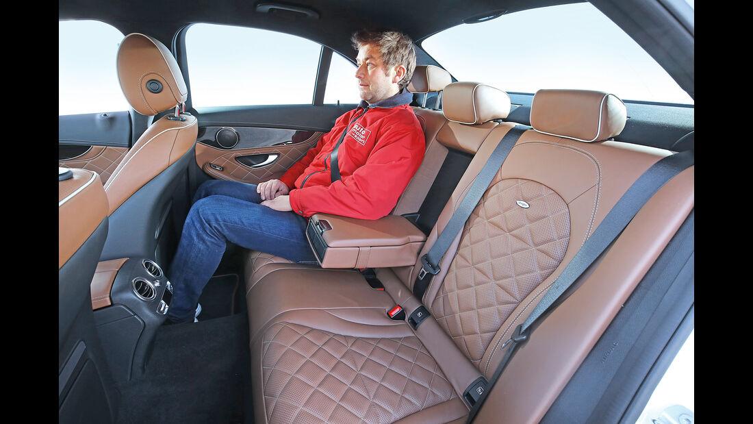 Mercedes C 250 d, Fondsitze