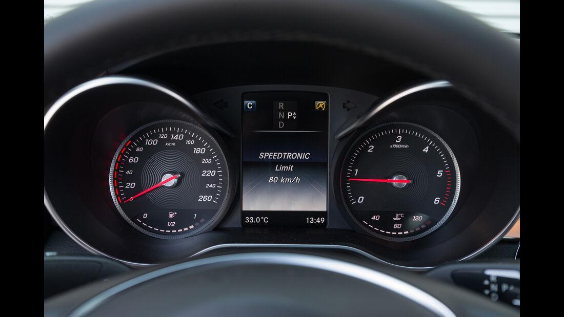 Mercedes C 250 d, Rundinstrumente