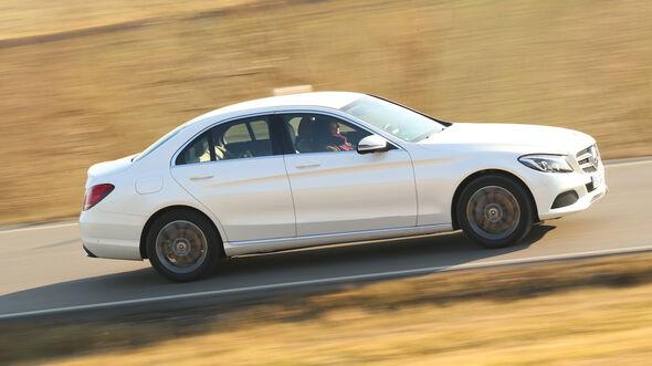 Mercedes C 250 d, Seitenansicht