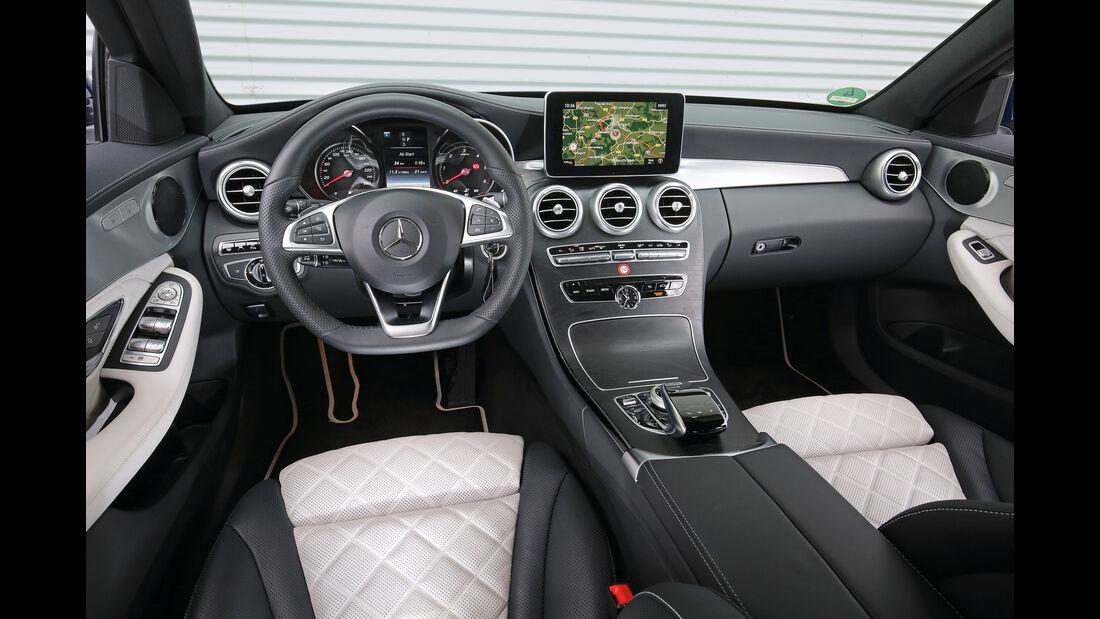 Mercedes C 250 d T 4Matic, Cockpit