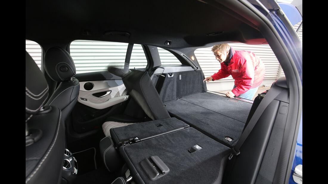 Mercedes C 250 d T 4Matic, Kofferraum