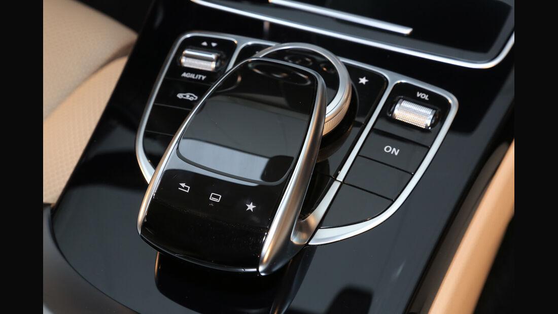 Mercedes C 300 Bluetec Hybrid, Bedienelement