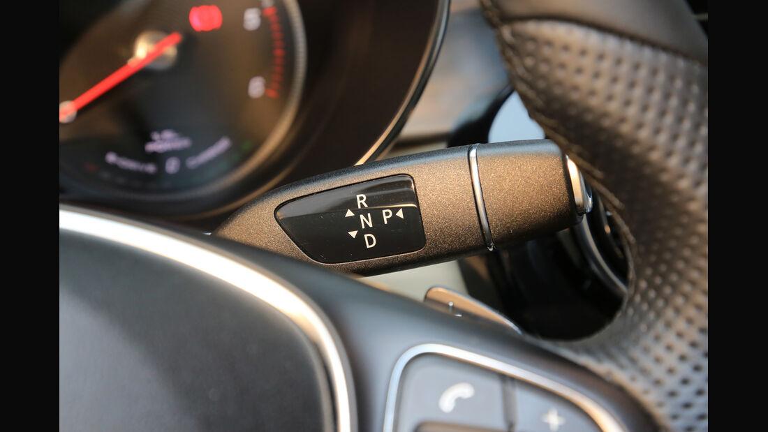 Mercedes C 300 Bluetec Hybrid, Lenkradschalter