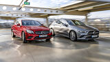 Mercedes C 300 T Avantgarde, Mercedes CLA 250 SB 4Matic Progressive, Exterieur