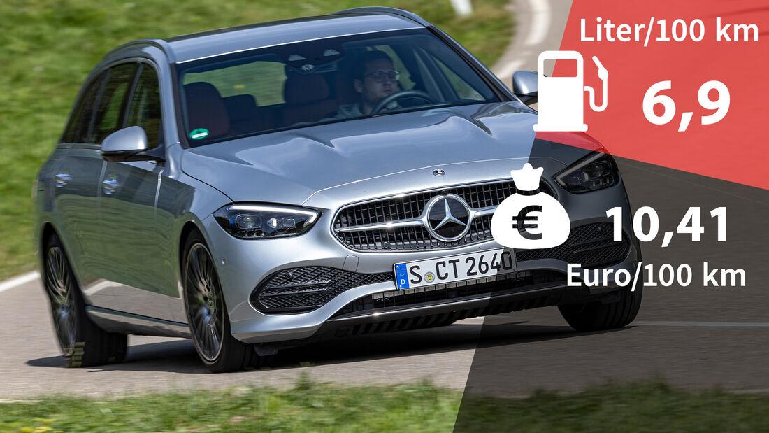 Mercedes C 300 d T-Modell Kosten Realverbrauch