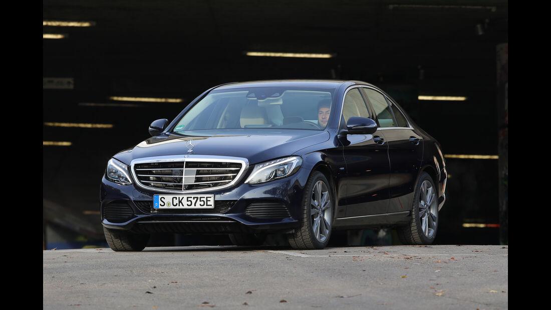 Mercedes C 350 e, Frontansicht