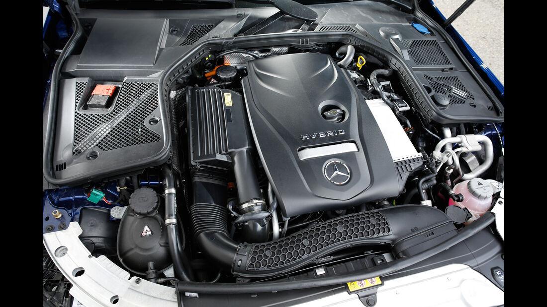 Mercedes C 350 e, Motor