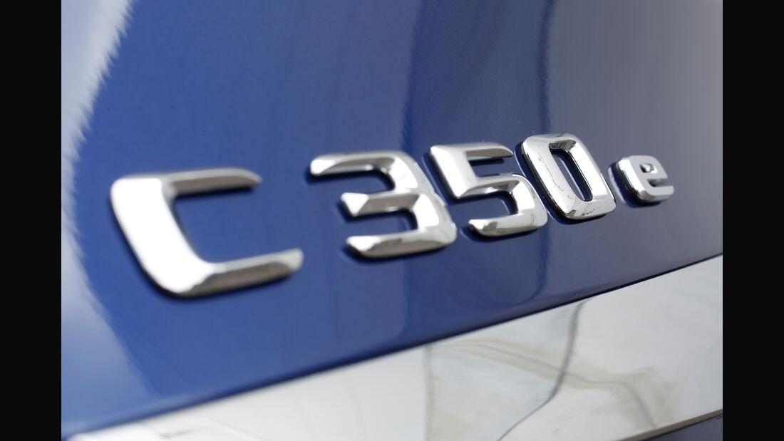 Mercedes C 350 e, Typenbezeichnung