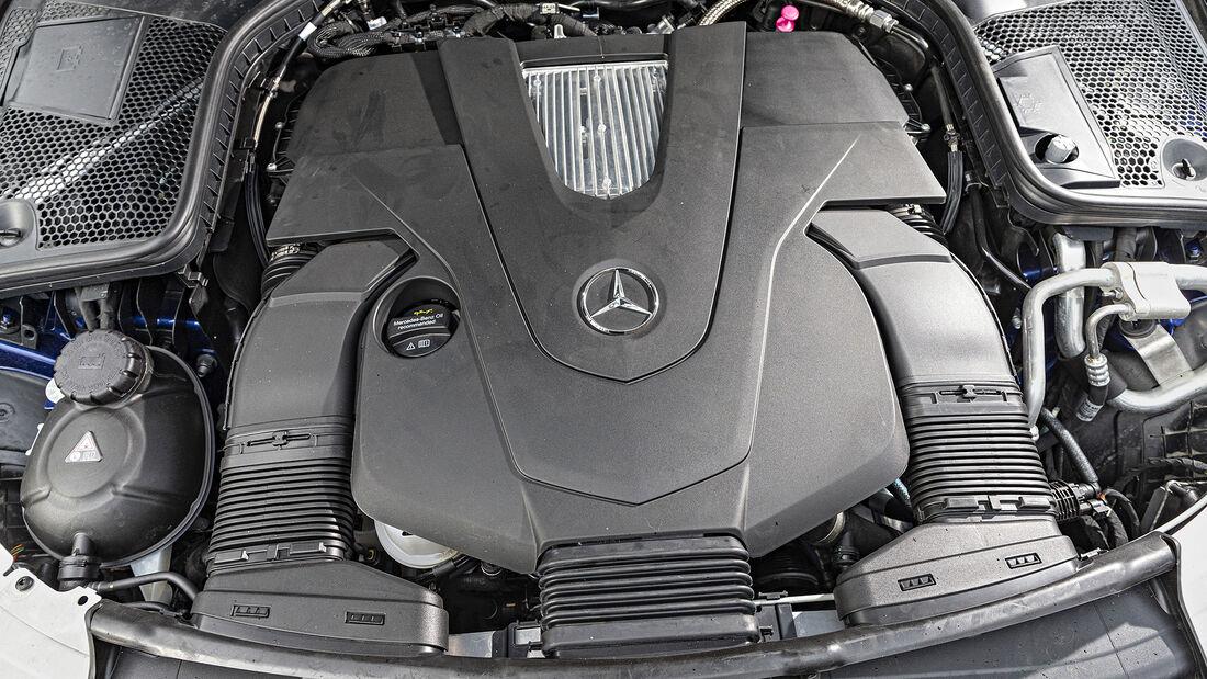 Mercedes C 400 T 4matic, Motor