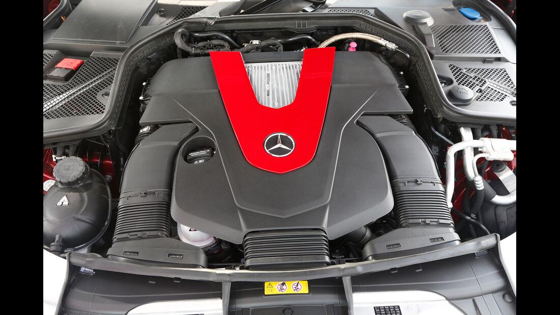Mercedes C 450 AMG, Motor