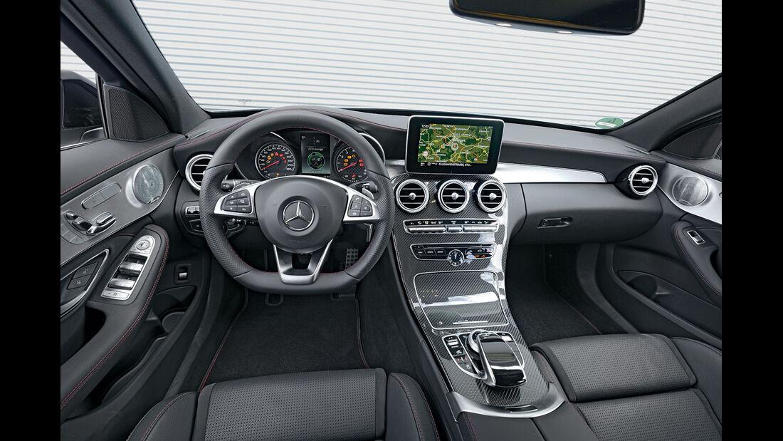 Mercedes C 450 AMG T-Modell, Cockpit