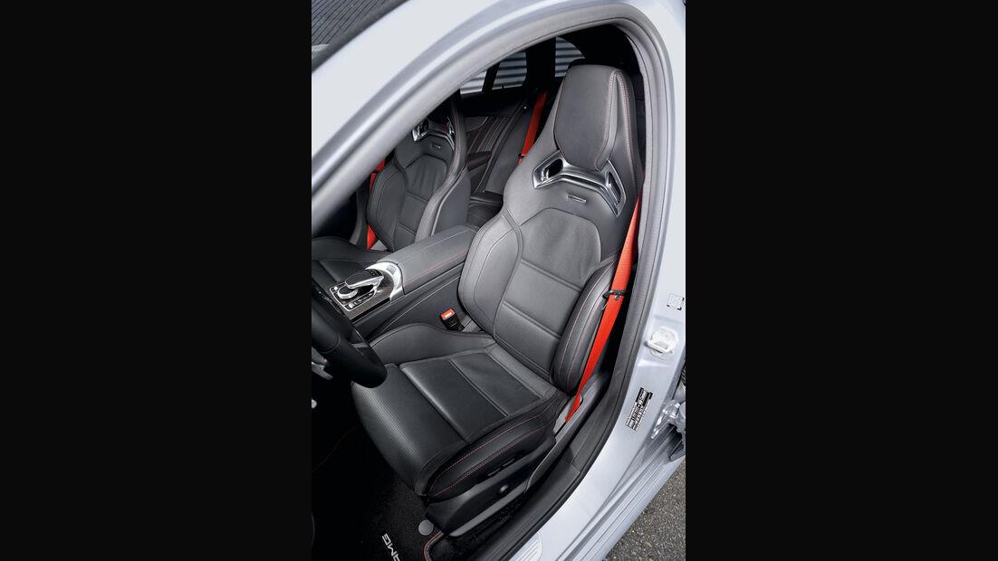 Mercedes C 450 AMG T-Modell, Fahrersitz