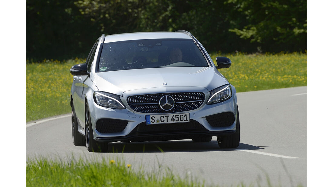 Mercedes C 450 AMG T-Modell, Frontansicht