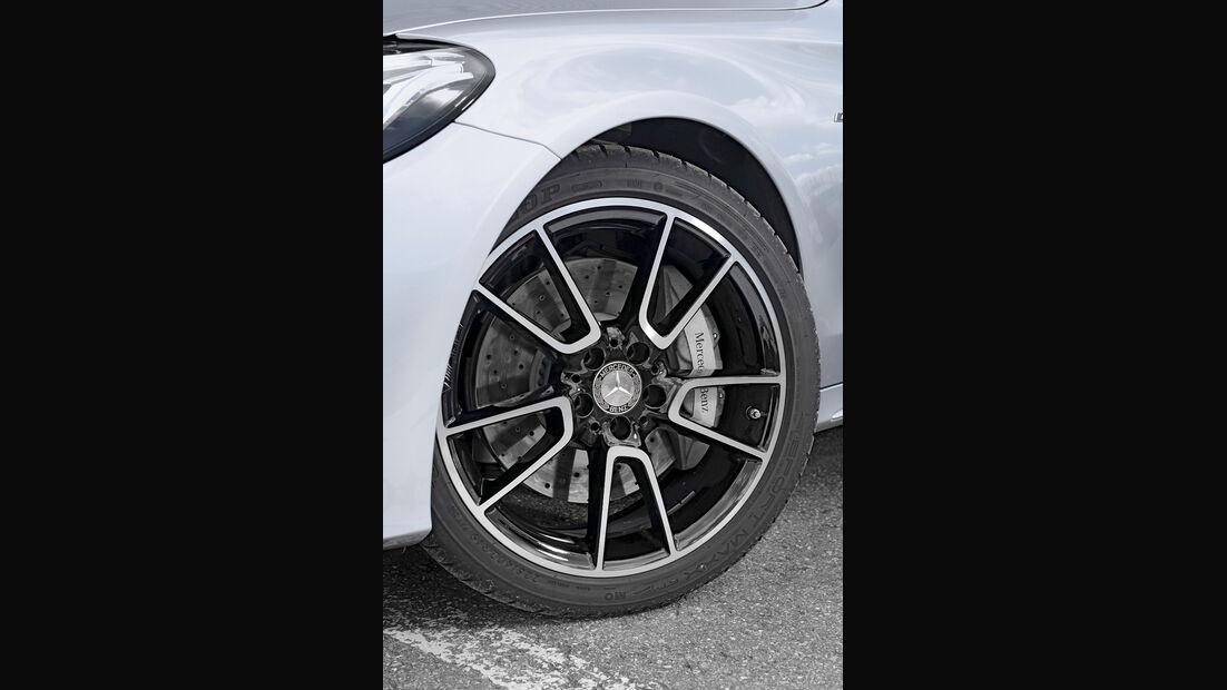 Mercedes C 450 AMG T-Modell, Rad, Felge