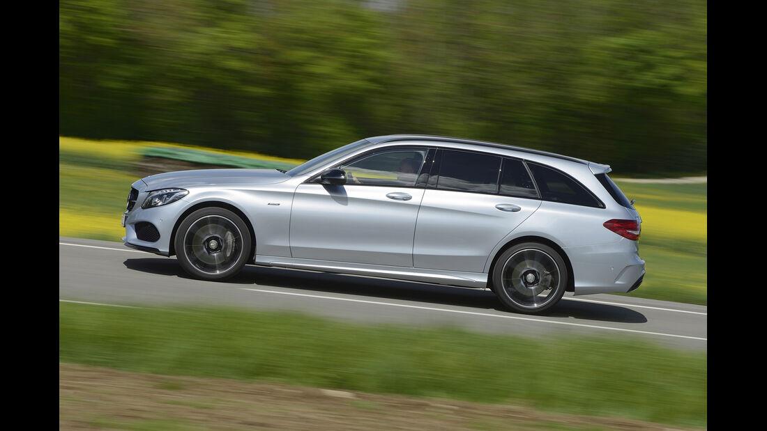 Mercedes C 450 AMG T-Modell, Seitenansicht