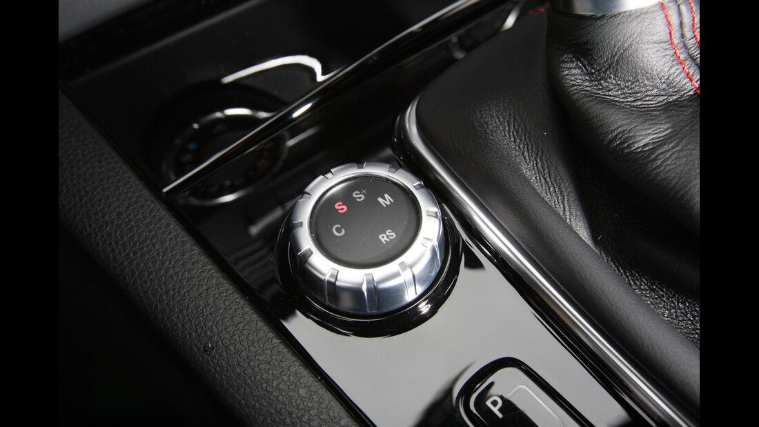 Mercedes C 63 AMG Black Series, Mittelkonsole