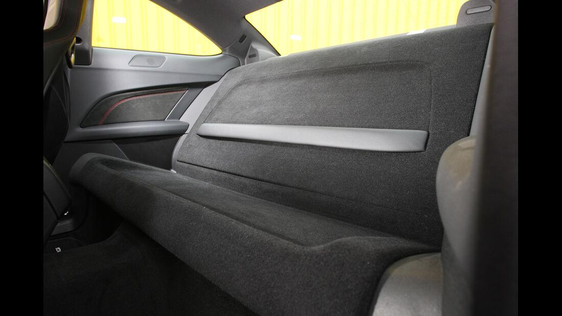 Mercedes C 63 AMG Black Series, Rückbank