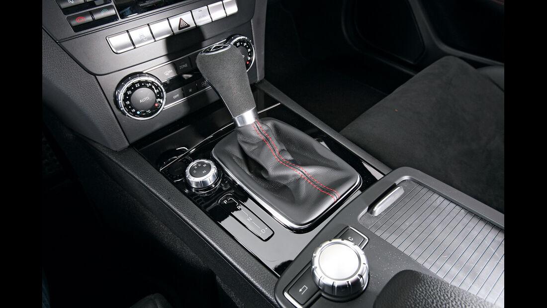 Mercedes C 63 AMG Black Series, Schalthebel, Schaltknauf