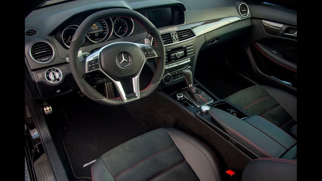 Mercedes C 63 AMG Black Series - Sportwagen - Innenraum