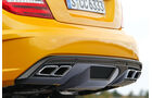 Mercedes C 63 AMG Coupé BS, Auspuff