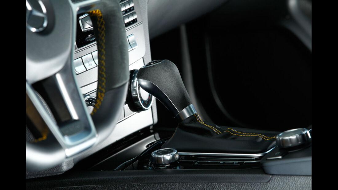 Mercedes C 63 AMG Coupé BS, Schaltknauf