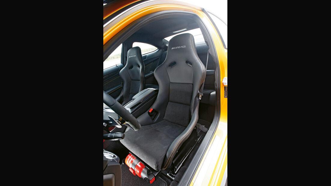 Mercedes C 63 AMG Coupé BS, Sportsitz