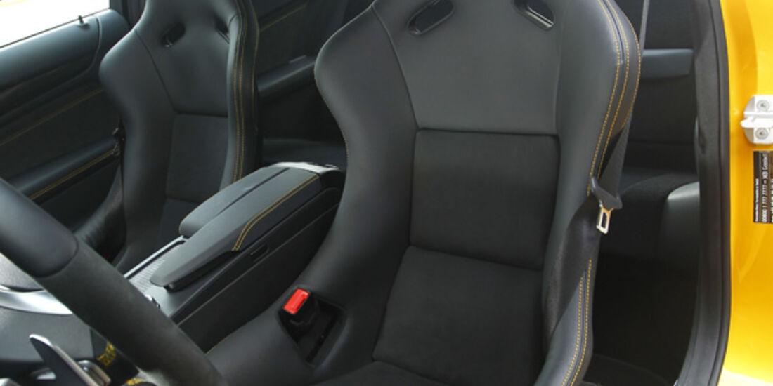 Mercedes C 63 AMG Coupé Black Series, Fahrersitz