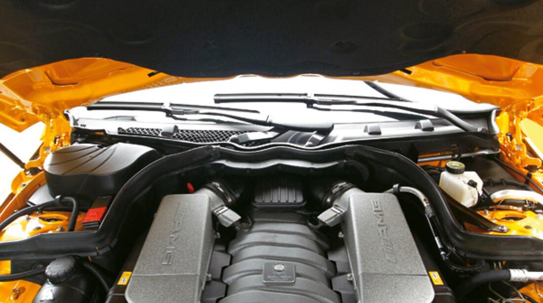 Mercedes C 63 AMG Coupé Black Series, Motor