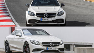 Mercedes C 63 AMG Coupé - Mercedes S 63 AMG Coupé - Aufmacher