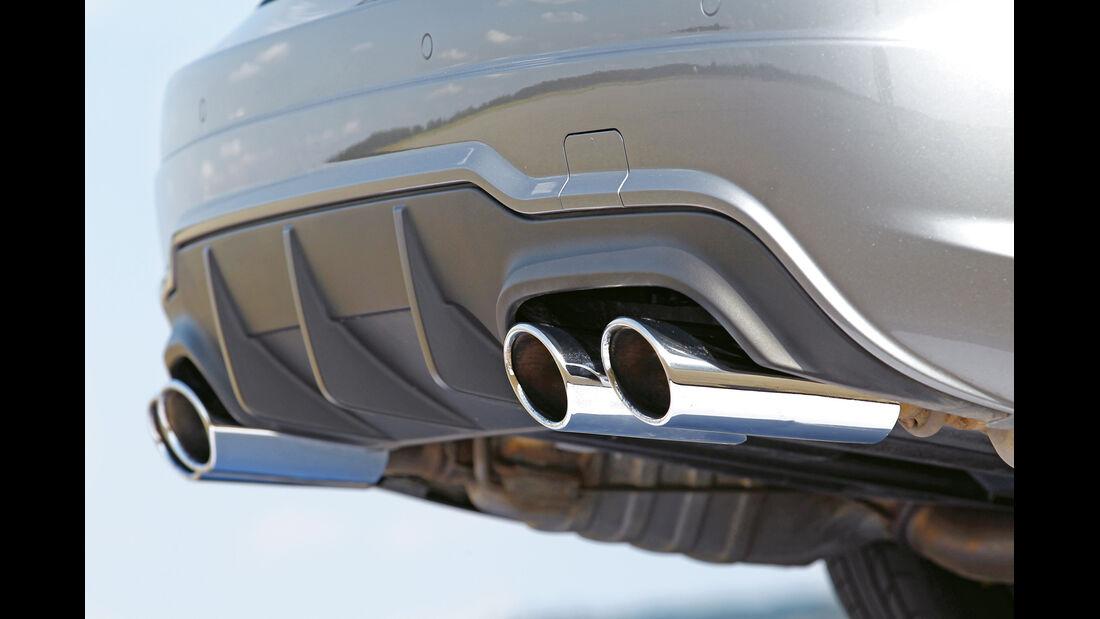 Mercedes C 63 AMG Coupé Performance Package, Endorhre, Auspuff